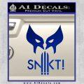 Wolfman Snikt D3 Decal Sticker Blue Vinyl 120x120