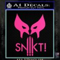 Wolfman Snikt D3 Decal Sticker Hot Pink Vinyl 120x120
