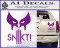 Wolfman Snikt D3 Decal Sticker Purple Vinyl 120x97