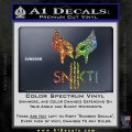 Wolfman Snikt D3 Decal Sticker Sparkle Glitter Vinyl 120x120