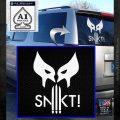 Wolfman Snikt D3 Decal Sticker White Emblem 120x120