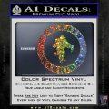 Wounded Warriors Decal Sticker CR Sparkle Glitter Vinyl 120x120
