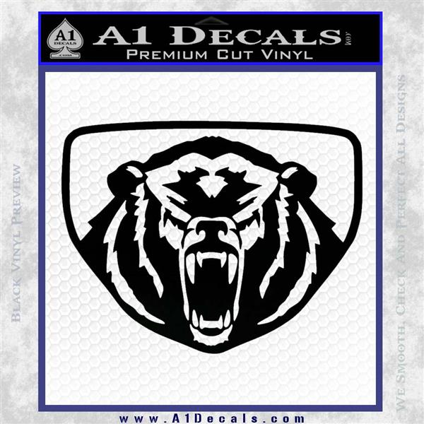 Car Make Symbols >> Yamaha Grizzly Decal Sticker Logo » A1 Decals