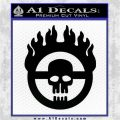 Mad Max Fury Road Emblem Decal Sticker Black Logo Emblem 120x120