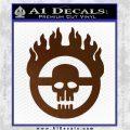 Mad Max Fury Road Emblem Decal Sticker Brown Vinyl 120x120
