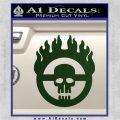 Mad Max Fury Road Emblem Decal Sticker Dark Green Vinyl 120x120