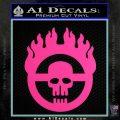 Mad Max Fury Road Emblem Decal Sticker Hot Pink Vinyl 120x120