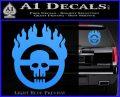 Mad Max Fury Road Emblem Decal Sticker Light Blue Vinyl 120x97