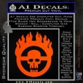 Mad Max Fury Road Emblem Decal Sticker Orange Vinyl Emblem 120x120