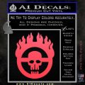 Mad Max Fury Road Emblem Decal Sticker Pink Vinyl Emblem 120x120
