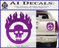 Mad Max Fury Road Emblem Decal Sticker Purple Vinyl 120x97