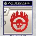 Mad Max Fury Road Emblem Decal Sticker Red Vinyl 120x120