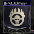 Mad Max Fury Road Emblem Decal Sticker Silver Vinyl 120x120