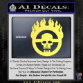 Mad Max Fury Road Emblem Decal Sticker Yelllow Vinyl 120x120
