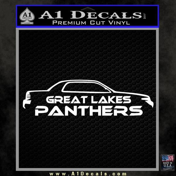 Great Lakes Panthers Decal Sticker 3