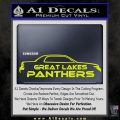 Great Lakes Panthers Decal Sticker 6 120x120