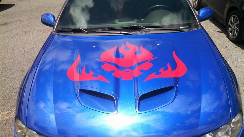 anime decal gurren lagen justin goode
