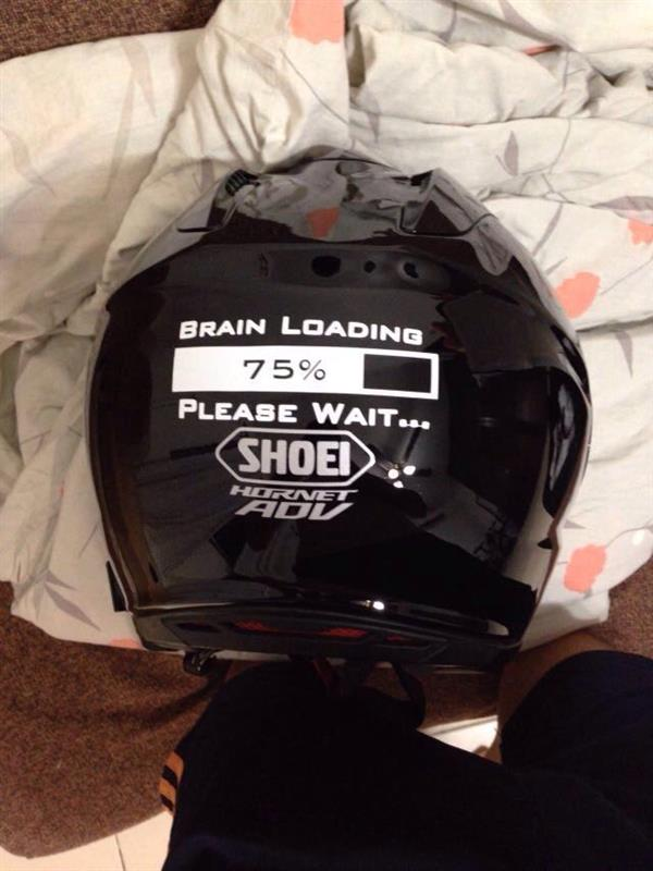 brain loading helmet