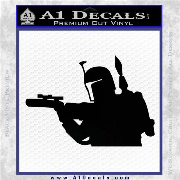 Alien DBF B5 Decal Sticker Black Vinyl Logo Emblem