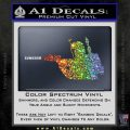 Alien DBF B5 Decal Sticker Sparkle Glitter Vinyl Sparkle Glitter 120x120
