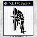 Alien DBF Slave 1 Ship Decal Sticker Black Vinyl Logo Emblem 120x120