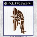 Alien DBF Slave 1 Ship Decal Sticker Brown Vinyl 120x120