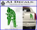 Alien DBF Slave 1 Ship Decal Sticker Green Vinyl 120x97