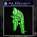 Alien DBF Slave 1 Ship Decal Sticker Lime Green Vinyl 120x120