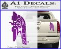 Alien DBF Slave 1 Ship Decal Sticker Purple Vinyl 120x97