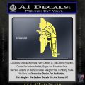 Alien DBF Slave 1 Ship Decal Sticker Yellow Vinyl 120x120