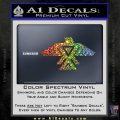 Anishinabe Tribal Eagle Decal Sticker Sparkle Glitter Vinyl Sparkle Glitter 120x120