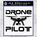 Drone Decal Sticker D2 Black Vinyl Logo Emblem 120x120