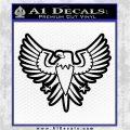 Eagle Decal Sticker Freedom Black Vinyl Logo Emblem 120x120