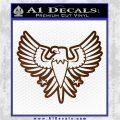 Eagle Decal Sticker Freedom Brown Vinyl 120x120