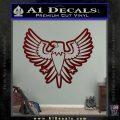 Eagle Decal Sticker Freedom Dark Red Vinyl 120x120