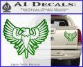 Eagle Decal Sticker Freedom Green Vinyl 120x97