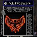 Eagle Decal Sticker Freedom Orange Vinyl Emblem 120x120