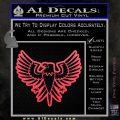 Eagle Decal Sticker Freedom Pink Vinyl Emblem 120x120