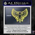 Eagle Decal Sticker Freedom Yellow Vinyl 120x120