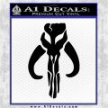 Mythodyno Alien DBF Banda Skull Decal Sticker Black Vinyl Logo Emblem 120x120