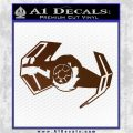 Overlord Twin Ion Engine Spaceship DTF Decal Sticker Brown Vinyl 120x120