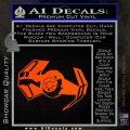Overlord Twin Ion Engine Spaceship DTF Decal Sticker Orange Vinyl Emblem 120x120