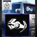 Overlord Twin Ion Engine Spaceship DTF Decal Sticker White Vinyl Emblem 120x120