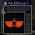 Pacific Rim Cherno Alpha Decal Sticker Orange Vinyl Emblem 120x120