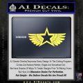 Pacific Rim Cherno Alpha Decal Sticker Yellow Vinyl 120x120