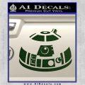 Robot D2 Decal Sticker DH5 Dark Green Vinyl 120x120