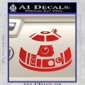 Robot D2 Decal Sticker DH5 Red Vinyl 120x120