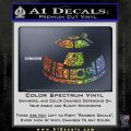 Robot D2 Decal Sticker DH5 Sparkle Glitter Vinyl Sparkle Glitter 120x120