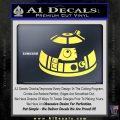 Robot D2 Decal Sticker DH5 Yellow Vinyl 120x120