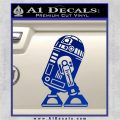 Robot D2 Neat Decal Sticker Blue Vinyl 120x120
